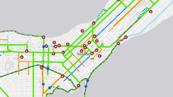 Bike Maps - Bike Madison - City of Madison, Wisconsin Citybike Map on hubway map, nyc train map, bronx zip code map, proof of success map, nyc school district map, nyc bus map,