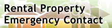Rental Property Emergency Contact