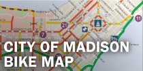 City of Madison Bike Map