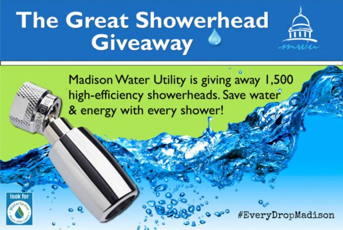 Great Showerhead Giveaway