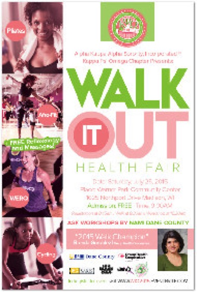Walk It Out Flyer