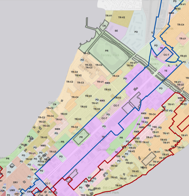 Zoning Changes Map 1