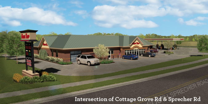 Illustration of proposed Kwik Trip