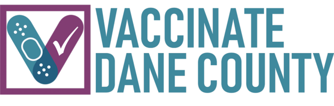 "Logo for ""Vaccinate Dane County"""