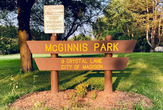 McGinnis Park Sign