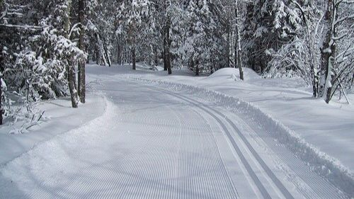 Yahara Hills groomed for skate and classic skiing.