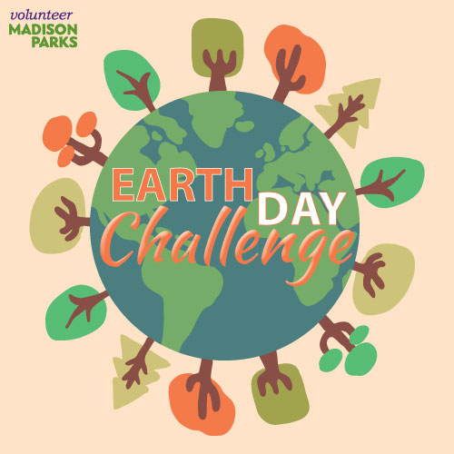 Logo for the Earth Day Challenge at Madison Parks