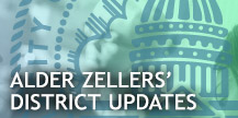 Alder Zellers' District Updates