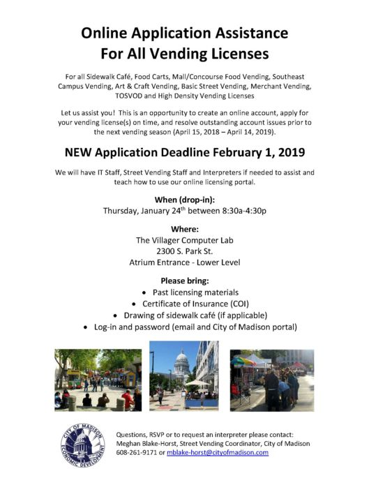 2019 Online Application Assistance Day