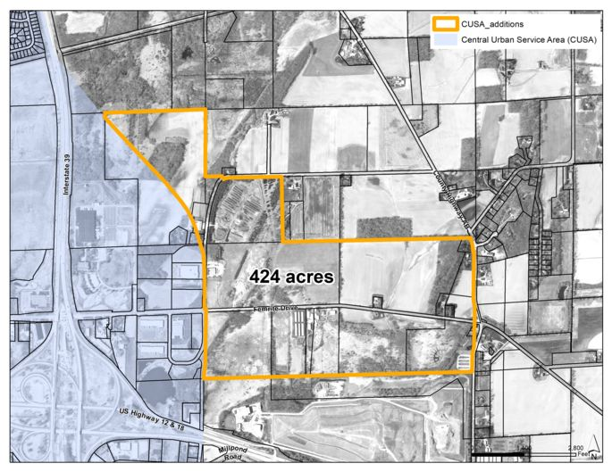 Yahara Hills Neighborhood Developement Plan and Femrrite Drive