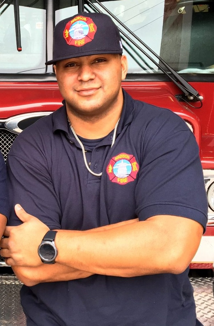 Just Because Madisons Water Meets Legal >> Meet Paramedic Richard Garner Fire City Of Madison Wisconsin