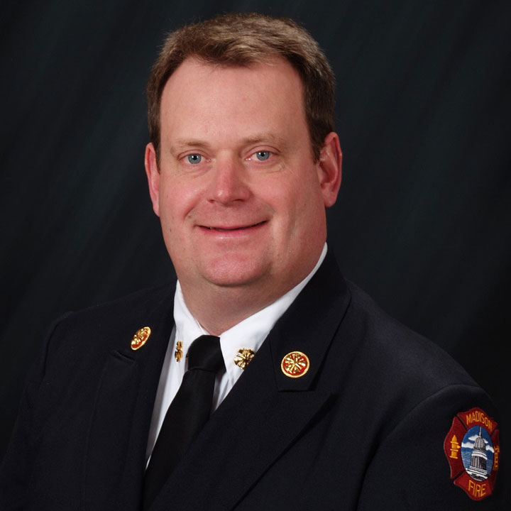 Fire Chief Steven Davis
