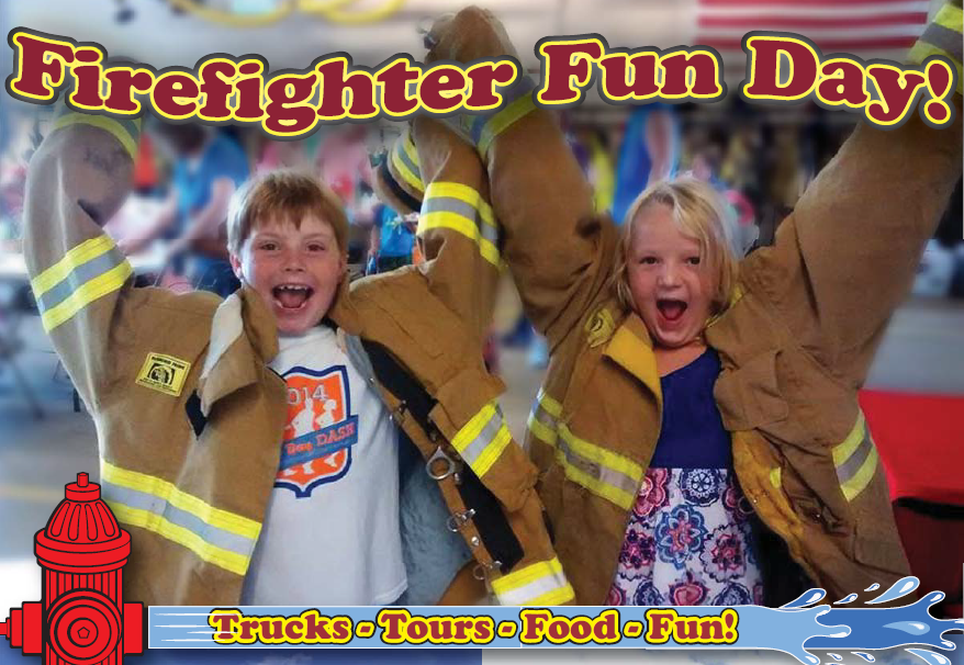 Firefighter Fun Day kids