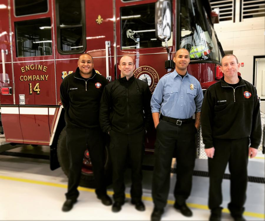 Engine 14's first crew