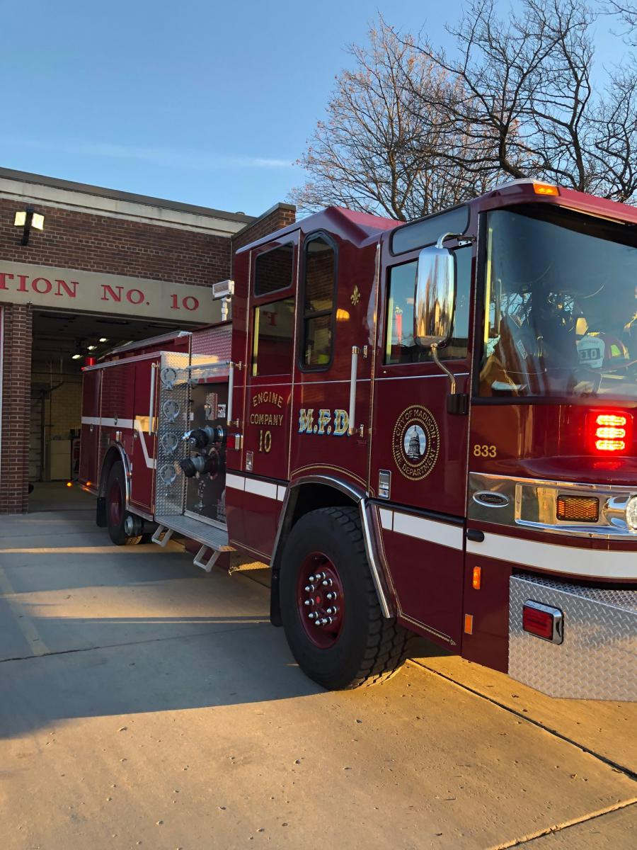 New Engine 10 responding to first call