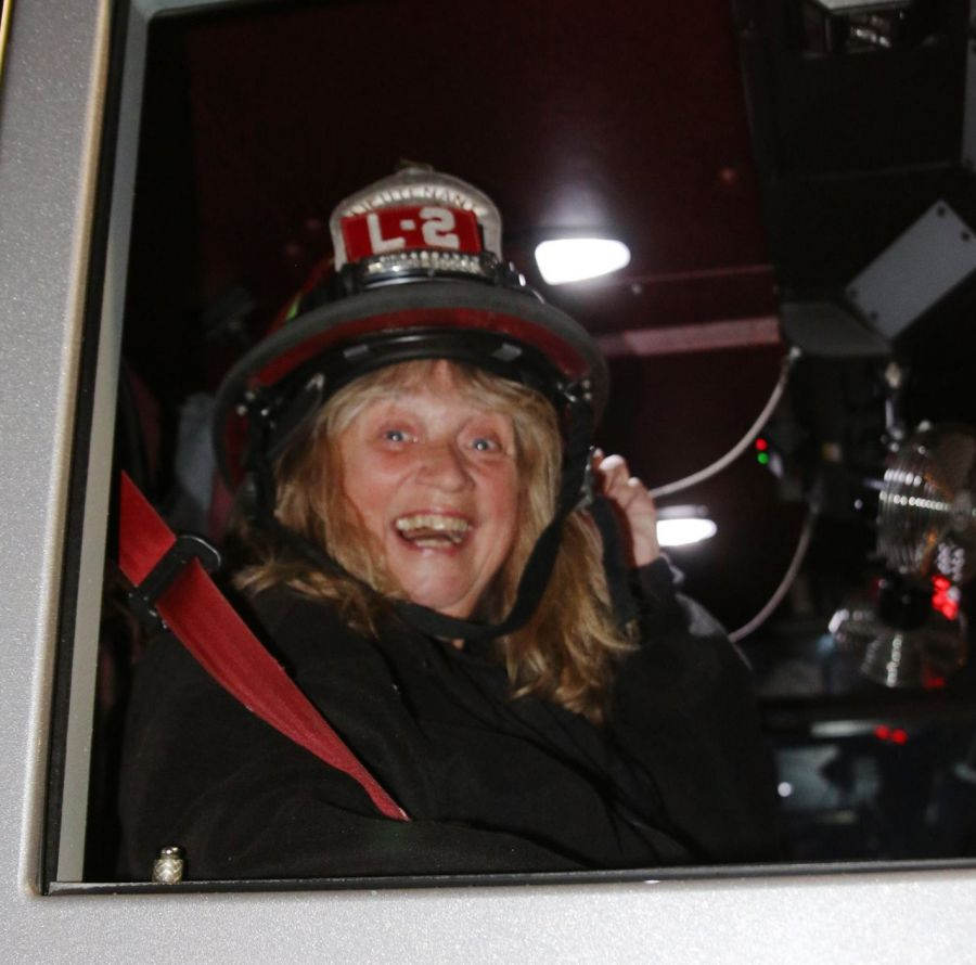Nancy Robinson on Ladder 2