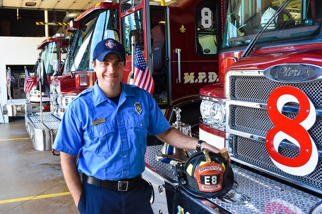 Firefighter Joe Parrillo