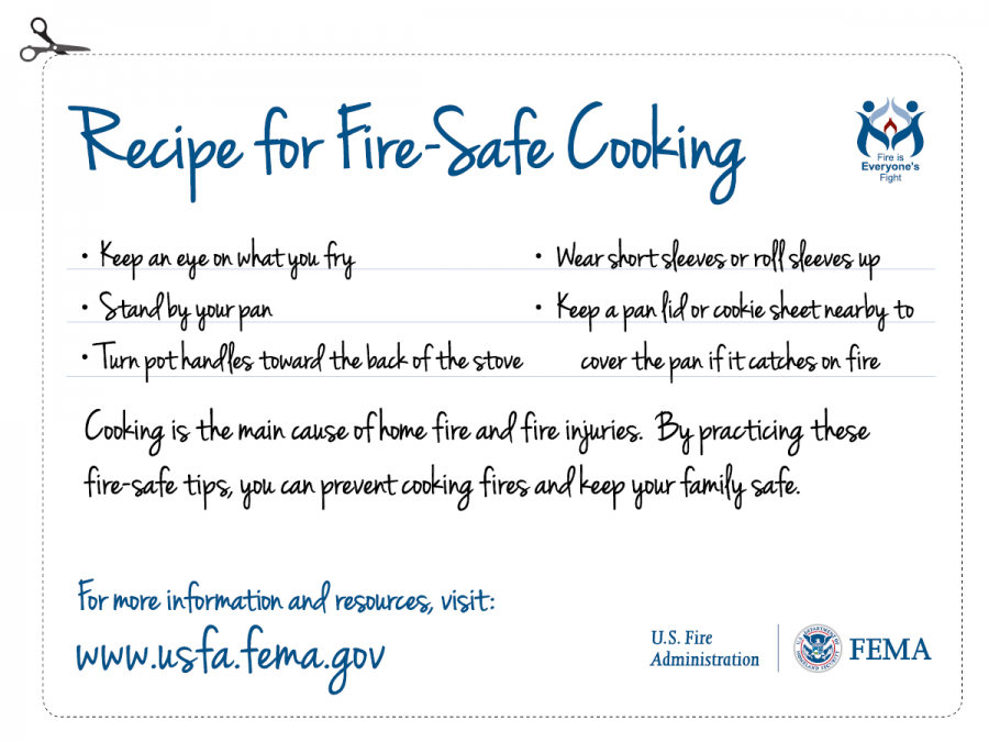 Recipe for a safe Thanksgiving graphic
