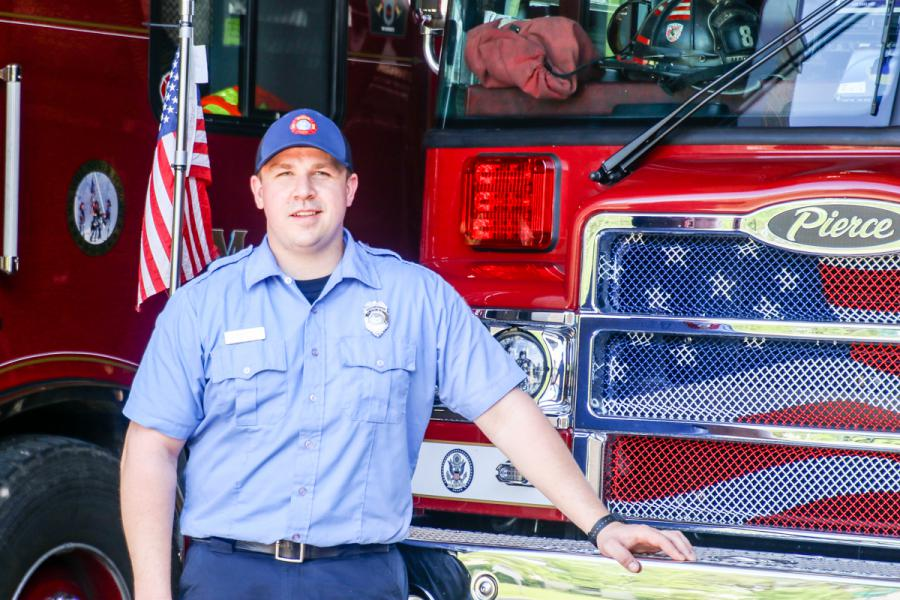 Madison Street Department Finally Gets >> Meet Firefighter Devin Rogers Fire City Of Madison Wisconsin