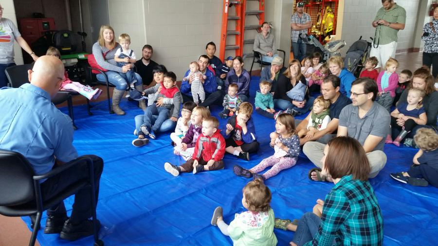 Firehouse storytime photo