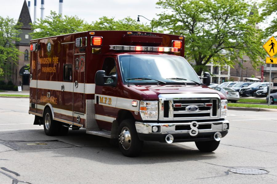City of Madison ambulance