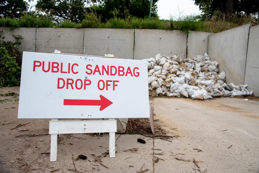 Public Drop Off Site for Sandbags