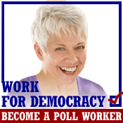 Apply to be a Poll Worker