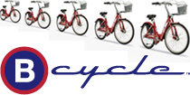 B-cycle urban bike sharing program