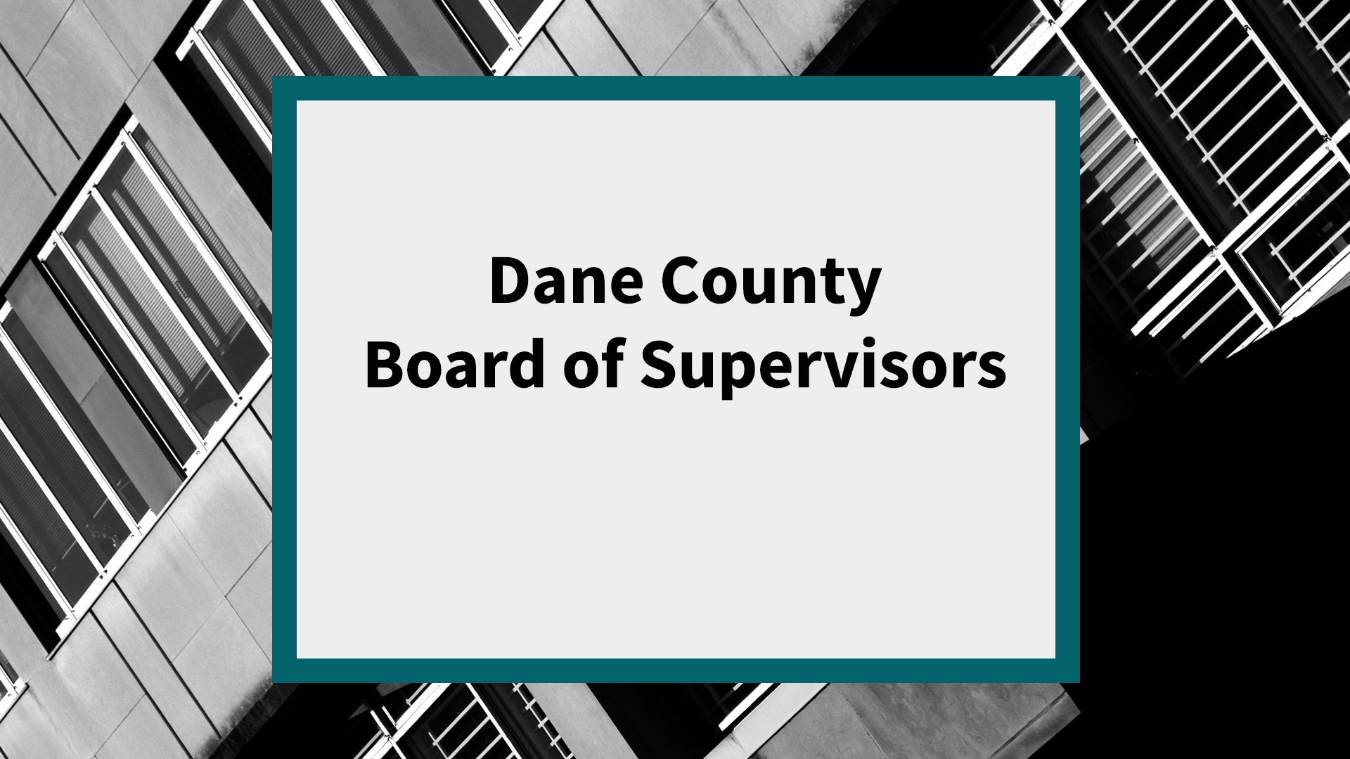 Dane County Board of Supervisors