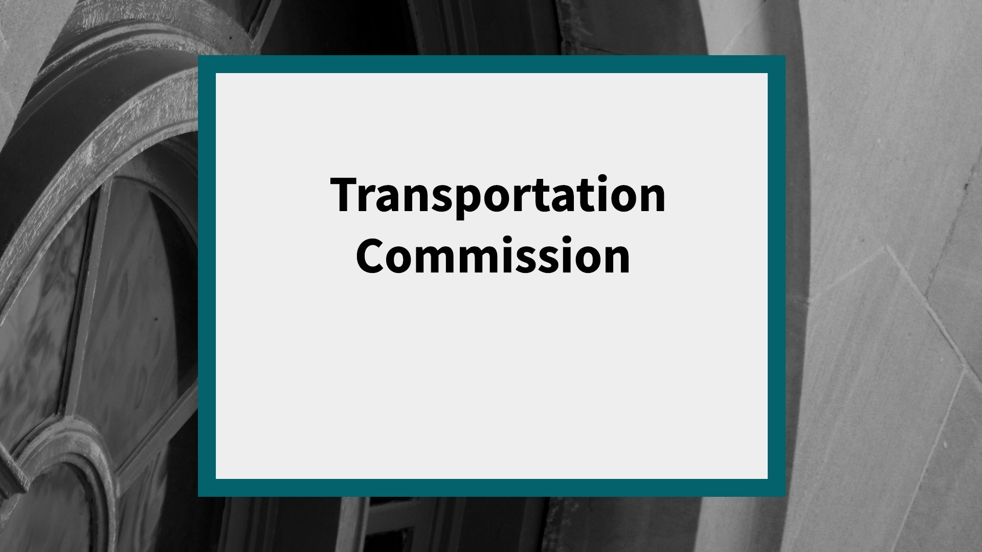 Transportation Commission