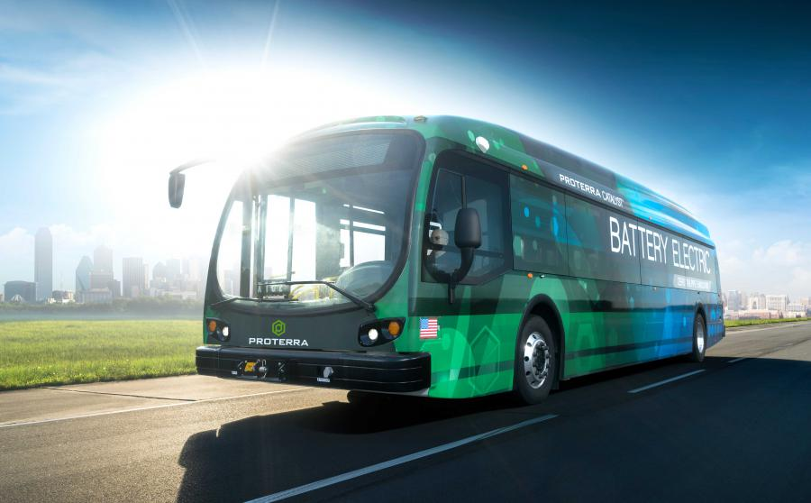 Proterra all electric buses