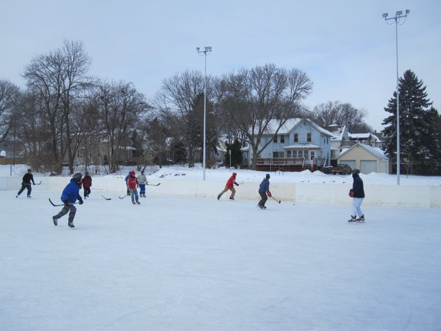 hockey at olbrich