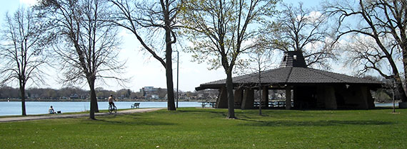 Shelter at Brittingham Park