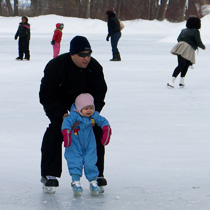 Tenney Park - Ice Skating