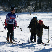 Elver Park Ski Trails