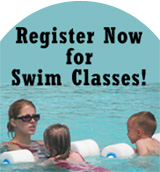 Register Now for Swim Lessons at Goodman Pool