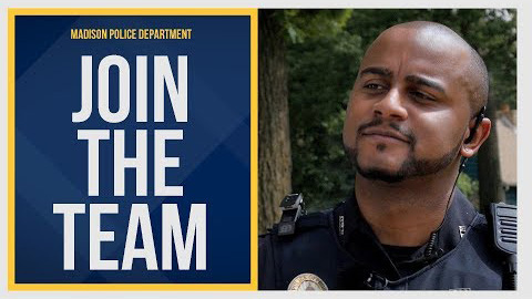 Video title card with the words Join the Team and a photo of Special Investigator Tim Smith