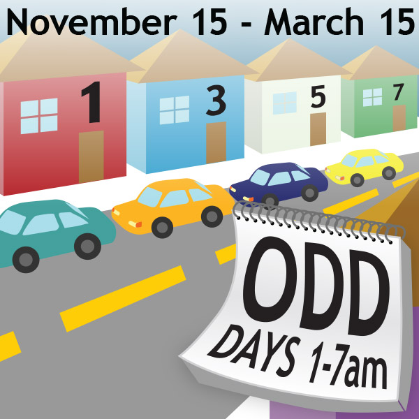 Alternate Side Parking: Odd Days