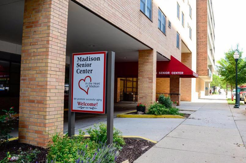 senior center entrance,  photo credit: City of Madison
