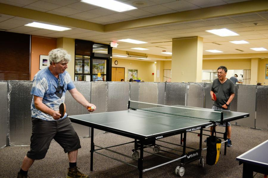 ping pong game,  photo credit: City of Madison
