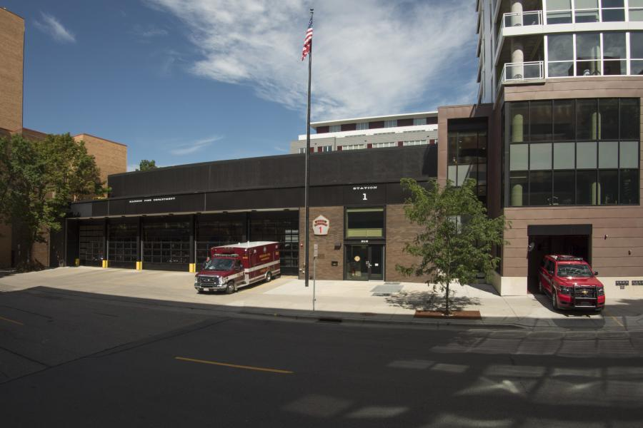 Fire Station One - Serving the downtown area, including the Capitol Square and UW-Madison campus.