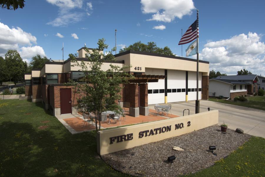 Fire Station 2 - Serving the west side, including West Towne Mall and Memorial High School.
