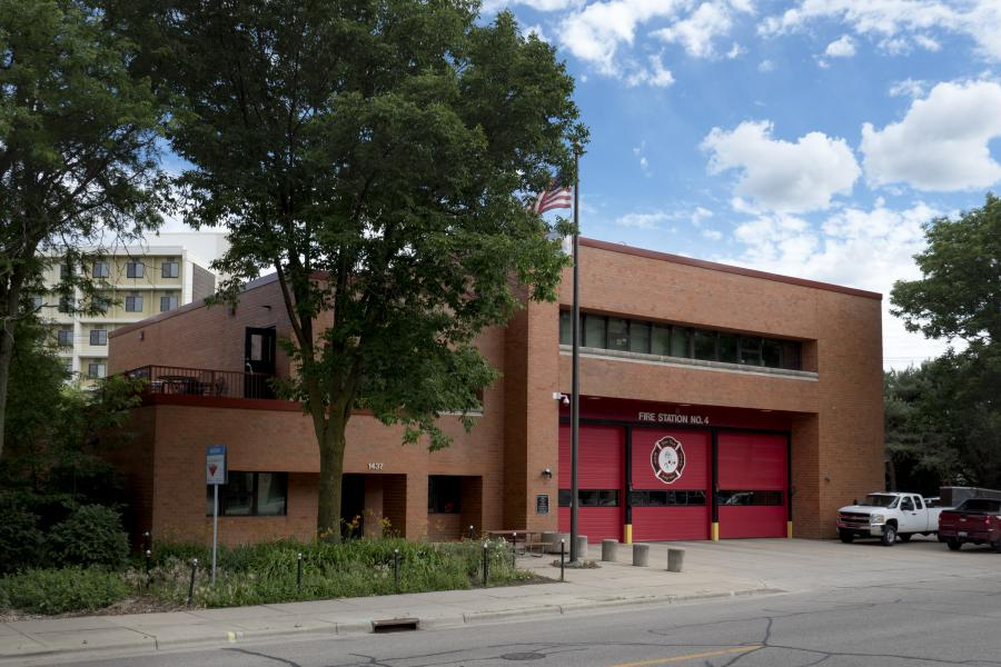 Fire Station 4 - Serving the UW-Madison campus and near west side.