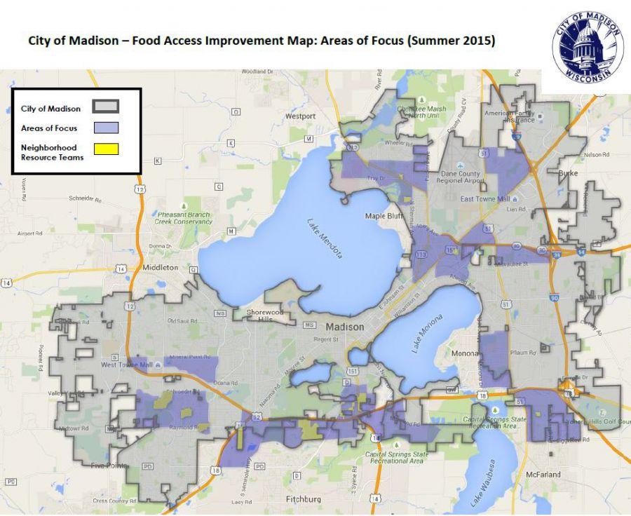 Food Access Improvement Map