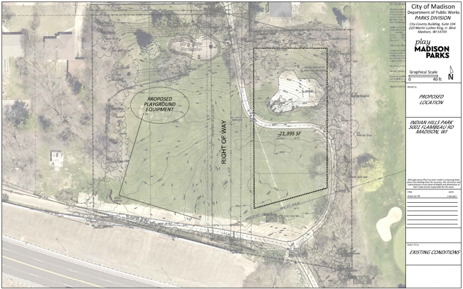 Proposed Garden Site - Indian Hills Park