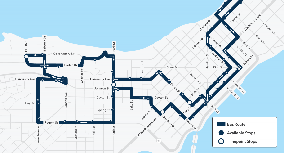 special event routing to replace routes 81 and 82 service