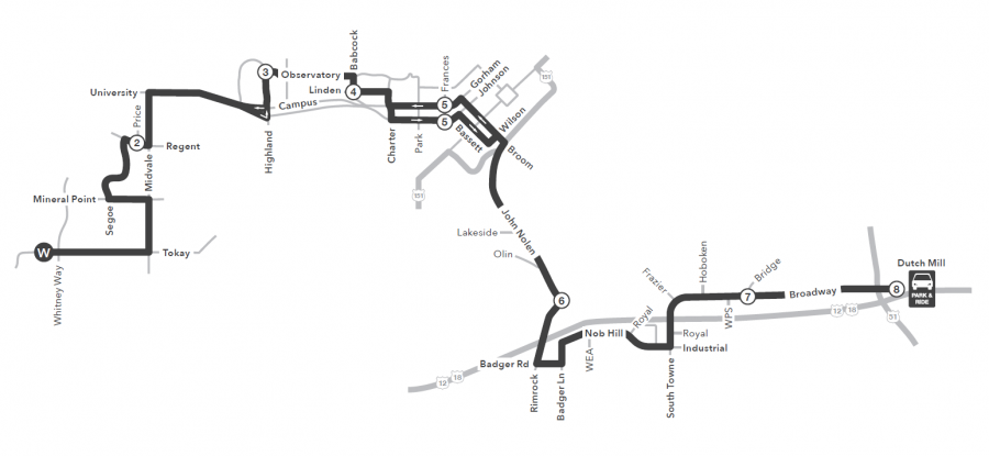 Route 11 service to/from west transfer point to dutch mill park and ride