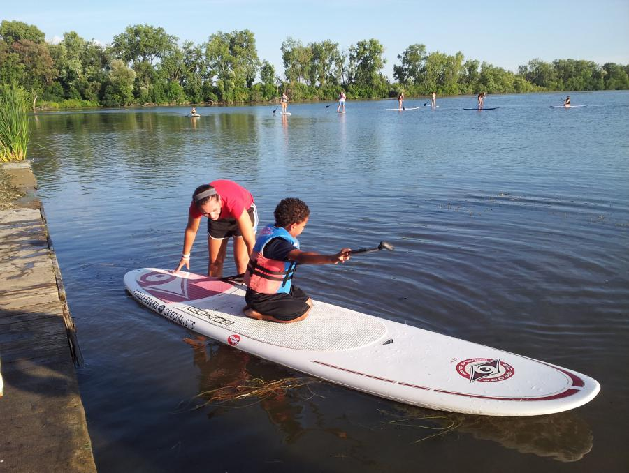 Wingra Park Madison If This Is What >> Learn To Stand Up Paddleboard Wingra Park City Of Madison City