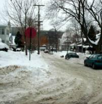 Alternate side parking: November 15 to March 15