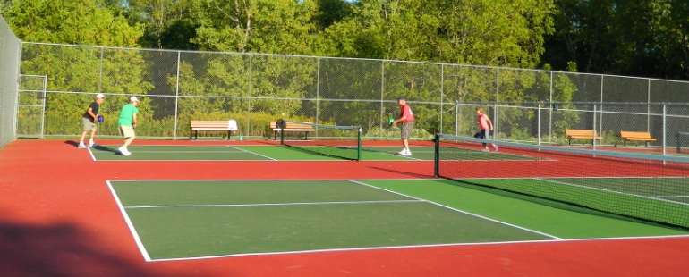 pickleball at garner